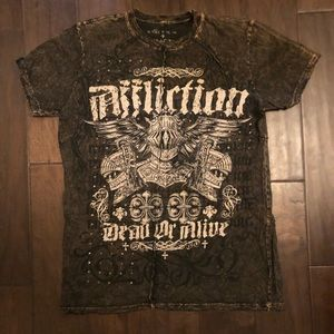 Affliction Tee Dead or Alive